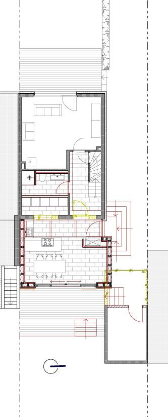 laura hirsch architektin anbau an eine doppelhaush lfte. Black Bedroom Furniture Sets. Home Design Ideas